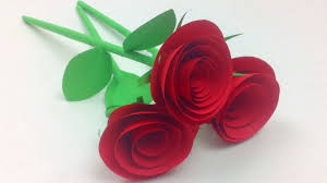 easy paper roses flowers step by step