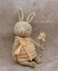 Rabbit by Sue Aucoin (Out of the Thistle/Thread-Bears) | Crochet bear  patterns, Crochet bear, Crochet bunny