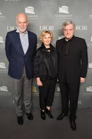 Sidney Toledano, Richard Armstrong, Wendy Fisher - Wendy Fisher Photos -  2017 Guggenheim International Pre-Party Made Possible by Dior - Zimbio