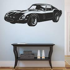 Ik963 Wall Decal Sticker Italian Car Ferrari Super Car Powerful Living Stickersforlife