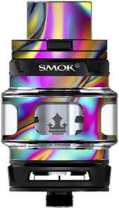 Amazon Com Skin Decal Vinyl Wrap For Smok Tfv12 Prince Tank Vape Kit Skins Stickers Cover Oil Slick Resin Iridium Glass Colors