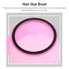 set hair b dye bowl brush tint color
