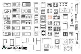 kitchen cad blocks free