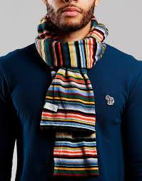 Paul Smith Knitted Scarf Multistripe - Terraces Menswear