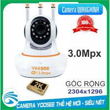 Camera wifi giám Sát Yoosee 3.0Mpx (2304x1296) quay 360 độ - Kèm Thẻ Nhớ  32GB [Tùy chọn]