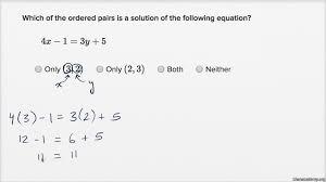 linear equations graphs algebra i