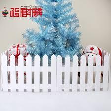 Buy Fu Unicorn Christmas Tree Decoration Fence White Wooden Fence Wooden Fence Fence Fence Christmas Christmas Decorations In Cheap Price On Alibaba Com