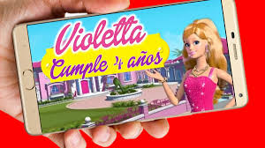 Barbie Video Tarjeta Invitacion Cumpleanos Whatsapp Digital