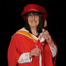 Hilary Hughes - Honorary Graduate - Staffordshire University