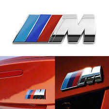 Badge Tri Color For All Bmw M Rear Emblem Car Decal Logo Sticker All Accessories For Cars Carnecessaries Com