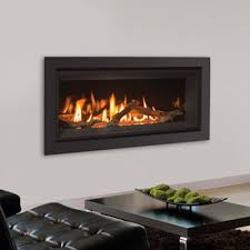 linear contemporary fireplaces