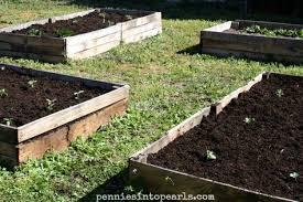 diy pallet wood raised garden beds