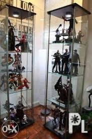 glass display cabinet like ikea detolf