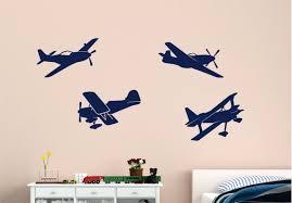 Airplane Decals Planes Vinyl Wall Decals Planes Decals Kids Etsy