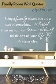 Tons Of Family Inspired Wall Quote Decals Great Ideas For Your Family Room Wall Home Decorating In 2020 Family Room Walls Wall Decals Living Room Family Room