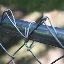 Amazon Com Jake Sales 6 1 2 Wire Ties Aluminum Aka Chain Link Fence Hook Ties Tie Wires Black In Color 30 Pack Garden Outdoor