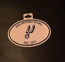 Sa San Antonio Teas Oval Car Window Bumper Sticker Decal 5 X 3