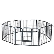 Bestpet Dog Pen Extra Large Indoor Outdoor Dog Fence Playpen Heavy Duty 16 8 Panels 24 32 40 Inches Exercise Pen Dog Crate Cage Kennel Talkingbread Co Il