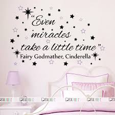 Cinderella Wall Decals Quotes Decal Nursery Decor 655 Decalhouse