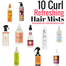 refreshing sprays for your natural hair
