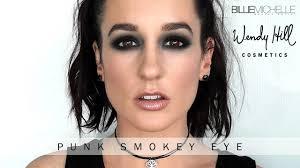 punk smokey eye using two s