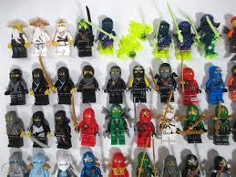 LEGO Lot of Ninjago Minifigures Kai Lloyd Cole Flintlocke Zane Wu ...