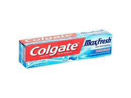 colgate max fresh toothpaste with mini