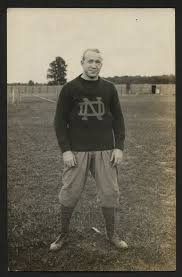 Photo of the Day: Knute Rockne's Own Player Postcard