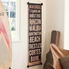 vintage surf spot sign pbteen