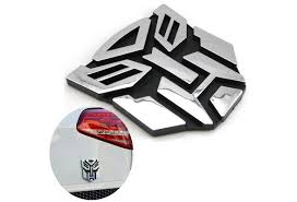 Car Logo Sticker Decal Stickers Transformers Car Metal Autobot Auto Graphics Graphics 3d Badge Transformers Waterproof Decoration Decal Protector Cars Diy Autobot Accessories Sticker Emblem Wish