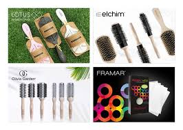 eco friendly hair brushes tools for