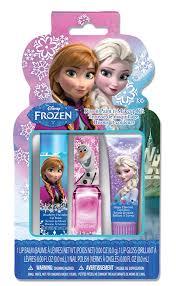 frozen kiss it paint it pvc makeup set