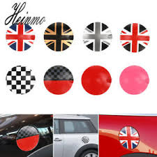Car Fuel Tank Gas Cap Cover Sticker Decoration Decal For Mini Cooper R55 R56 Ebay