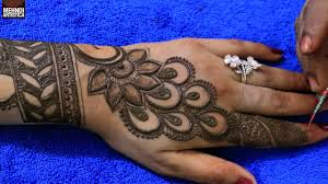 mehndi ka design aage ka photo