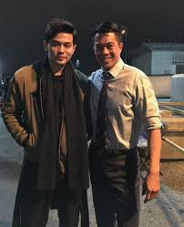 """Byron Mann on Twitter: """"Great to meet singer/composer/producer ..."""
