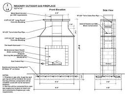 free plans build outdoor fireplace