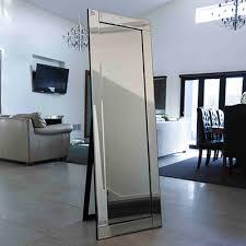beveled mirror 56 cm x 167 cm