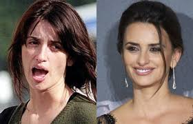 shocking pics of celebrities without makeup