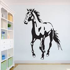 Horse Beautiful Wolves Wall Decal African Wild Lion Pride Animals Home Interior Design Art Office Murals Home Decoration A3 006 Wall Stickers Aliexpress