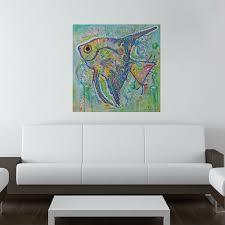 My Wonderful Walls Angel Fish Wall Decal Wayfair