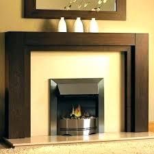 fireplace mantel in dove ethanol burner