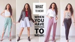 Clothing HACKS When you Have NOTHING To WEAR  SONIA GARG