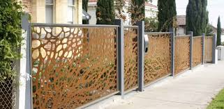 Custom Laser Cut Fences Gates Melbourne Pierre Le Roux Design
