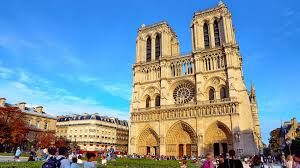 notre dame de cathedral in paris france
