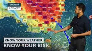 BOM weather forecast for NSW, Vic, SA ...