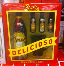 kahlua gwp promotions mug and mini kahlua