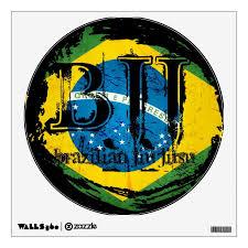 Bjj Vortex Brazilian Jiu Jitsu Wall Decal Zazzle Com