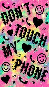 خلفيات لا تلمس هاتفي Do Not Touch My Phone