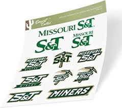 Sports Outdoors Decals Missouri University Of Science And Technology Mst Miners Ncaa Sticker Vinyl Decal Laptop Water Bottle Car Scrapbook Sheet Type 3 1