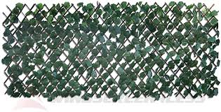 Amazon Com Windscreen4less Artificial Leaf Faux Ivy Expandable Stretchable Privacy Fence Screen Single Sided Leaves Garden Outdoor